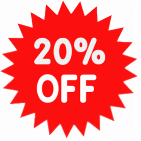 Season Discount at 20% On our New System